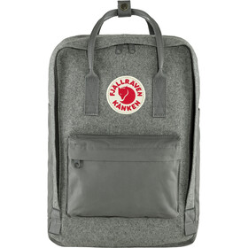 "Fjällräven Kånken Re-Wool Laptop Backpack 15"", granite grey"